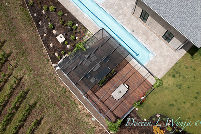 2 Mules poolside patio from the sky_7154