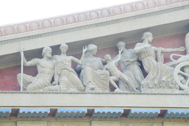The Parthenon western pediment