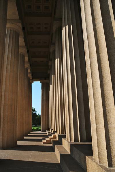 The Parthenon eastern portico