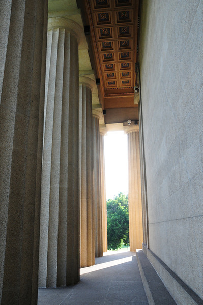 The Parthenon north colonnade
