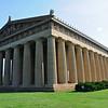 The Parthenon western portico and pediment, south colonnade