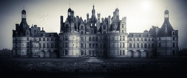 Château de Chambord, vue jardins