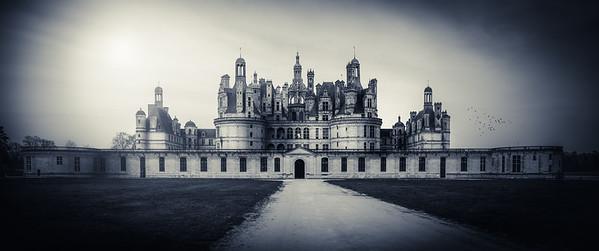 Château de Chambord, vue cour