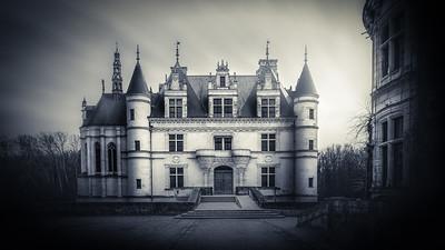 Chateau de Chenonceau, vue cour