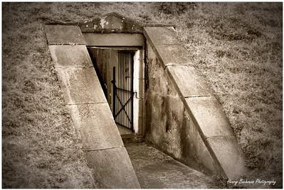 Ammo room Ft. Moultrie Sullivan's Island SC