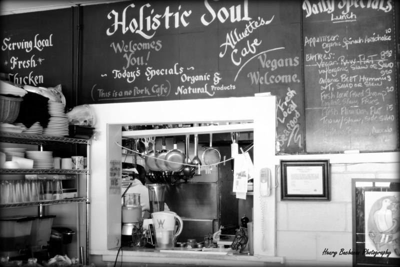 Alluette's Cafe<br /> Holistic Soul Food<br /> Charleston SC