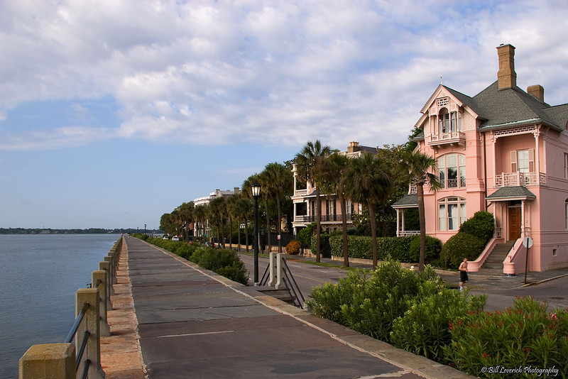 Waterfront homes on Charleston's East Battery St.