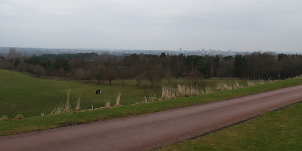 Estate view from Hunting Lodge