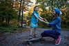 Helping Julia, just before sunset<br /> Chelsea, September 28, 2014