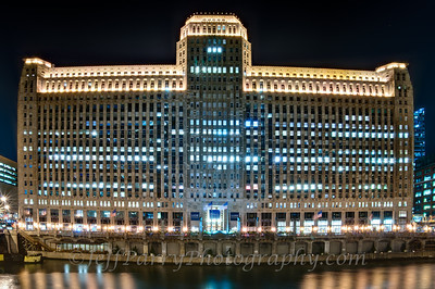 Merchandise Mart night