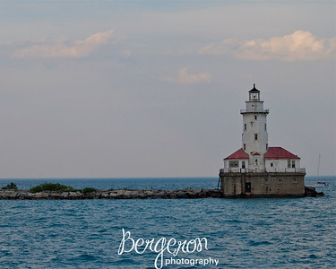 Lighthouse at Navy Pier, Chicago,Illinois