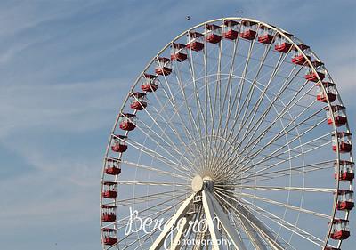 Ferris Wheel at Navy Pier, Chicago, Illinois