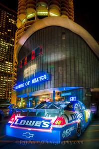 Jimmie Johnson Impala at House of Blues Marina City