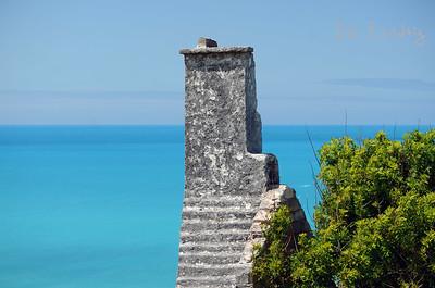 Ruin along the Railway Trail in Hamilton Parish, Bermuda
