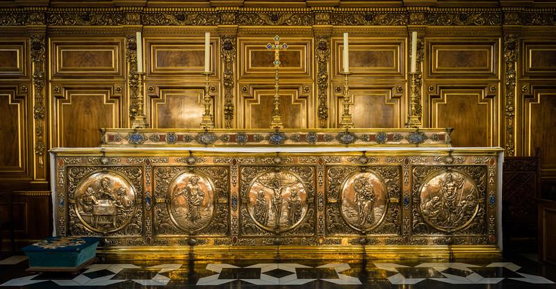 Alter Detail, Chapel, Balliol College.