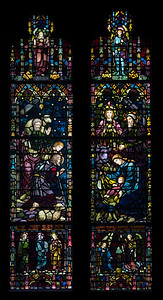 South Nave Window 1: The Nativity Window