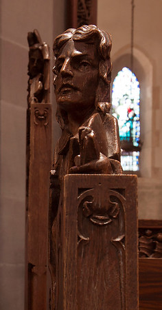 Choir Pew Figure 2: Theodulph of Orleans, profile