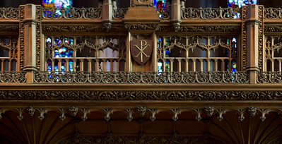 Rood screen detail