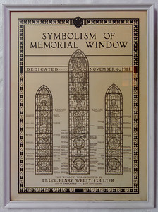 Memorial Window, WWI