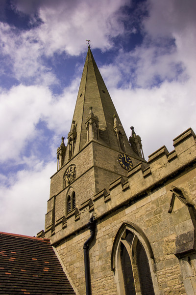 St Mary's Church, Edwinstowe, England<br /> St Mary's Church, Edwinstowe, England