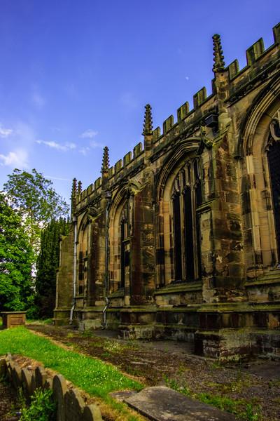 St Mary's Church, Mold, Wales<br /> St Mary's Church, Mold, Wales