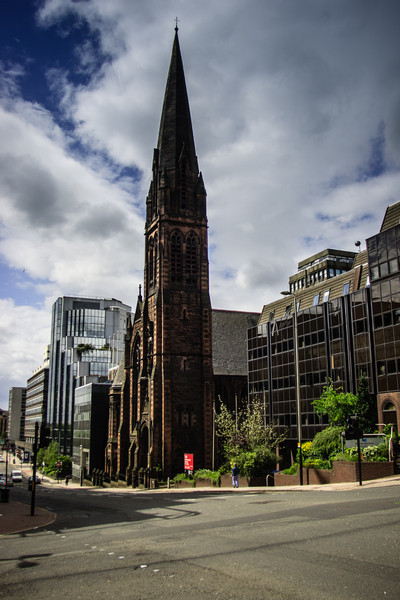 Glasgow, Scotland<br /> St Columba Church of Scotland (commonly known as the Highland Cathedral), 1904. designed by architects Tennant and Burke.