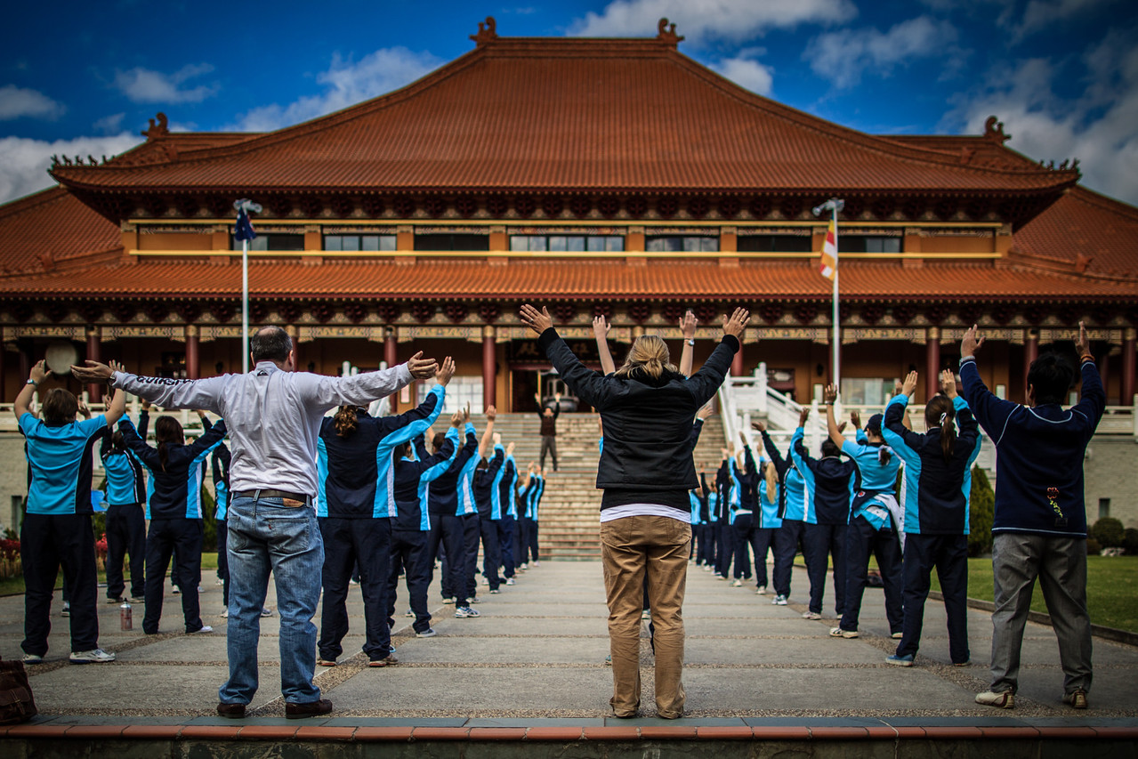 Nan Tien Temple, Wollongong, Australia<br /> Nan Tien Temple, Wollongong, Australia