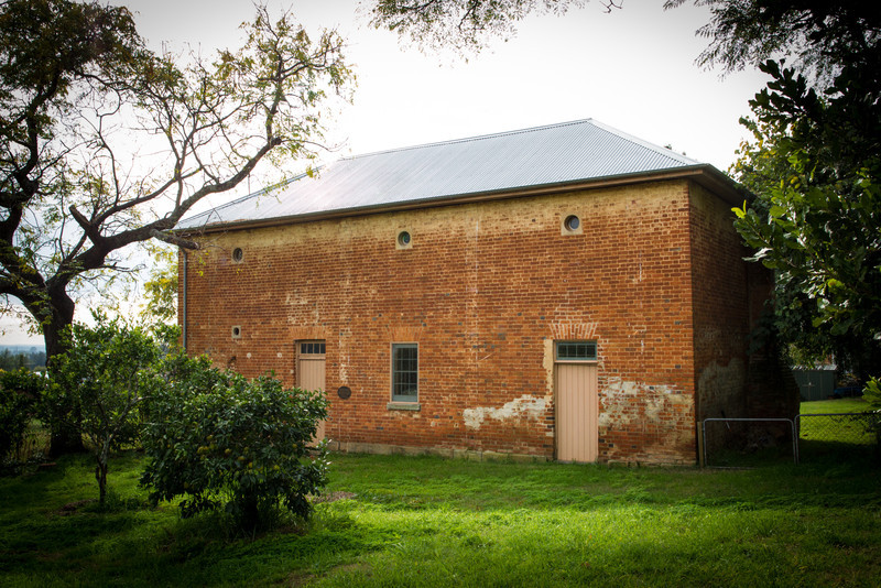 Windsor, Sydney, NSW, Australia<br /> Stables for Ministers of St Matthews Anglican Church. Designed by either Francis Greenway or Standish Harris (Greenway's successor as Government Architect), completed around 1825.