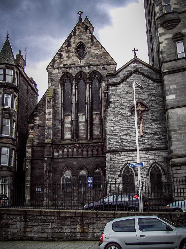 Old Saint Paul's Church, designed by Hay and Henderson and completed in 1883.