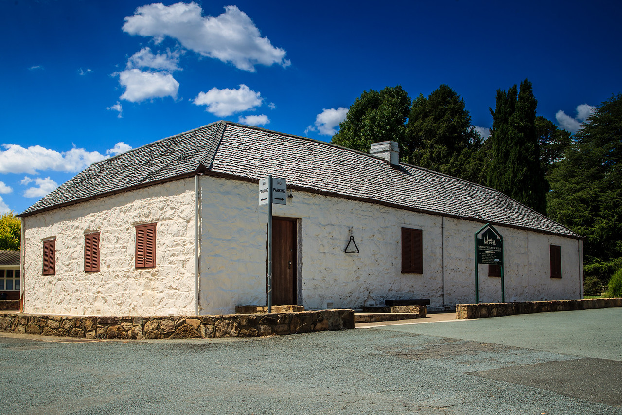 Canberra, ACT, Australia<br /> Schoolhouse and School Master's Residence for St John the Baptist Church, consecrated 12 March 1845.