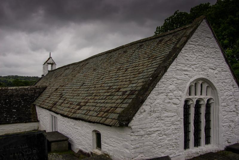 Llangar Church, Wales<br /> Llangar Church, Wales