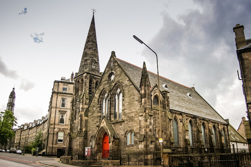 Edinburgh, Scotland<br /> Bellevue Chapel in Rodney St. Founded 1880.