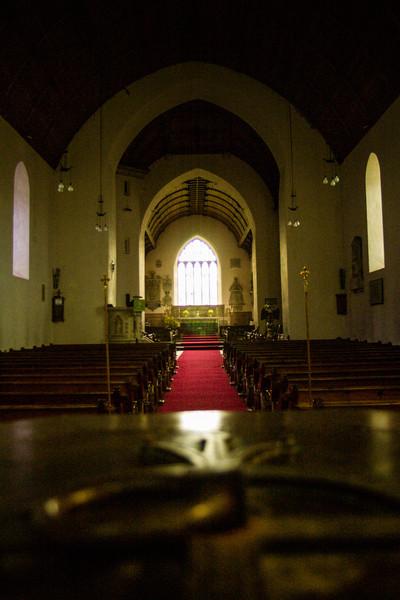 Llanberis, Wales<br /> St. Padarn's Church.