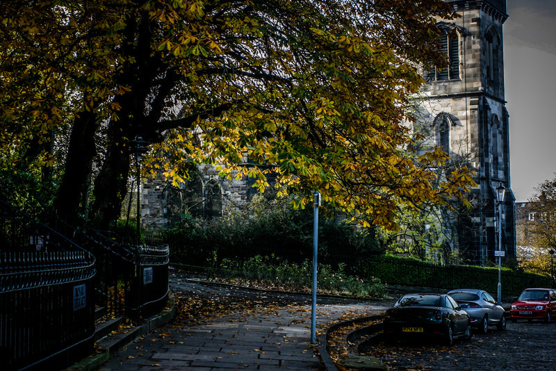 Edinburgh, Scotland<br /> Greenside Parish Church, constructed 1830-1839.