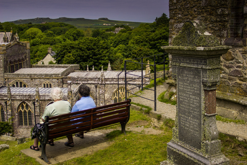 St David's, Pembrokeshire, Wales<br /> St David's Cathedral.