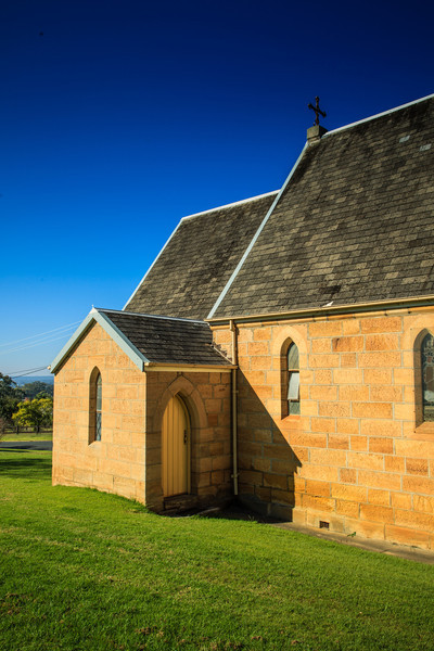 Wilberforce, Australia<br /> St Johns Anglican Church, designed by Edmund Thomas Blacket. Completed 1859.