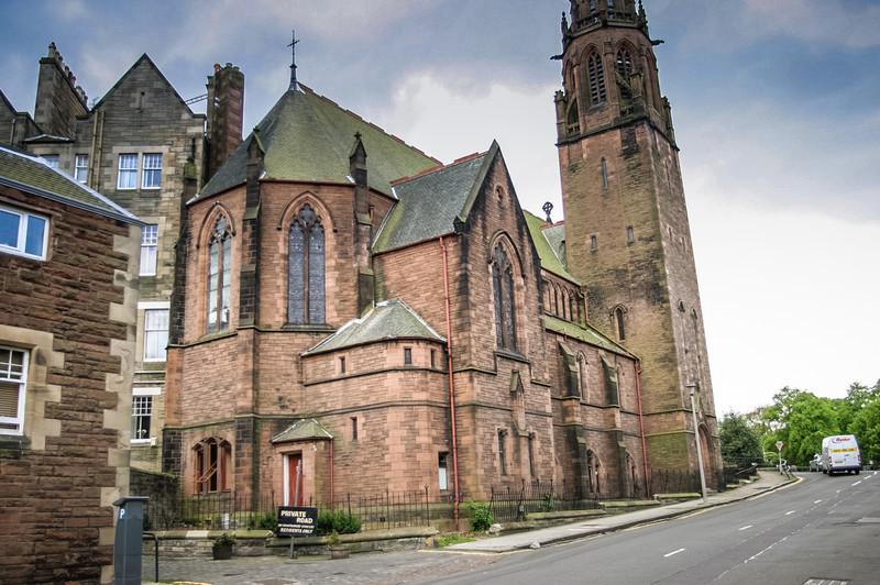 Edinburgh, Scotland<br /> The former 2nd Dean Free Church, built in 1888. Now a hostel.