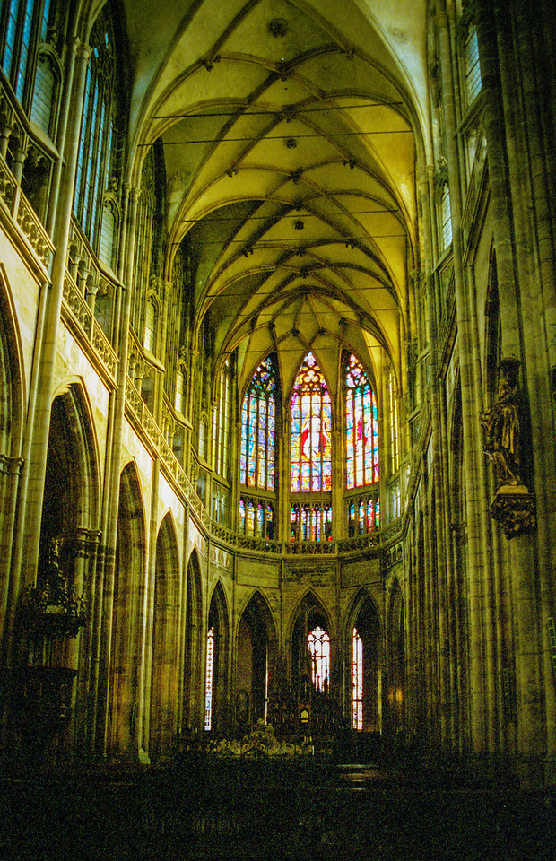 St Vitus' Cathedral.