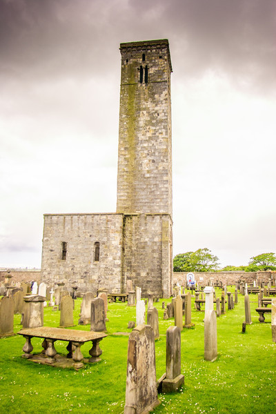 St Rule's Tower, St Andrews Cathedral, Scotland<br /> St Rule's Tower, St Andrews Cathedral, Scotland