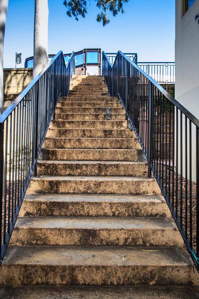 Parramatta, NSW, Australia<br /> Steps from the Lennox Bridge to the Riverside Walk.