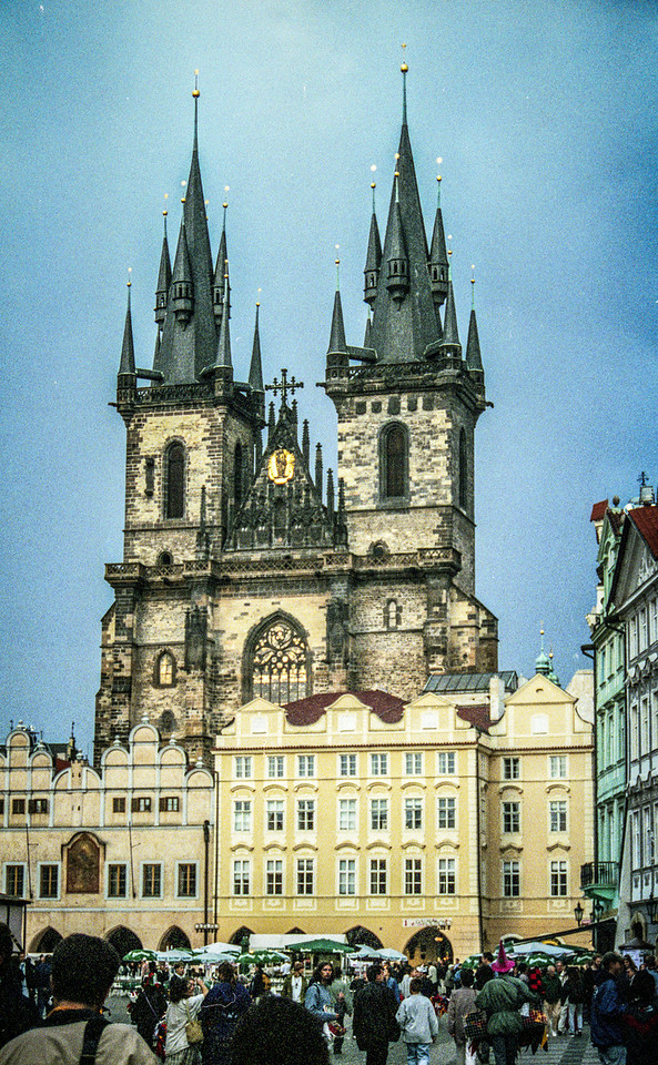 Church of Our Lady before Týn, 14thC.