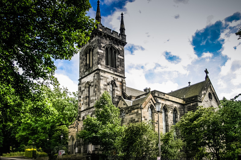 Edinburgh, Scotland<br /> Greenide Parish Church, Royal Terrace. James Gillespie Graham, 1851.