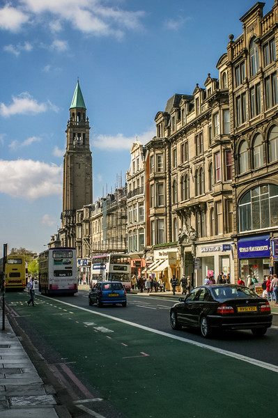 Edinburgh, Scotland<br /> St George's West, completed 1814.