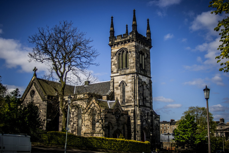 Greenside Parish Church, constructed 1830-1839.