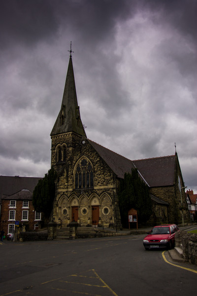 Christ Church, Oswestry, England<br /> Christ Church, Oswestry, England