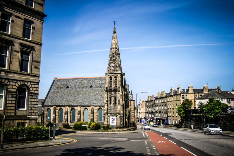 Edinburgh, Scotland<br /> Bellevue Chapel, completed 1880.