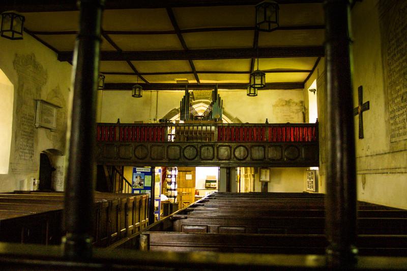 Parish Church, Stokesay Castle, Wales<br /> Parish Church, Stokesay Castle, Wales
