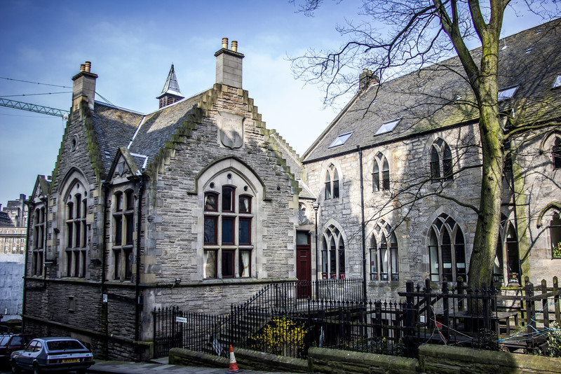 Cranston House, formerly the The Canongate Christian Institute (1828-1930).