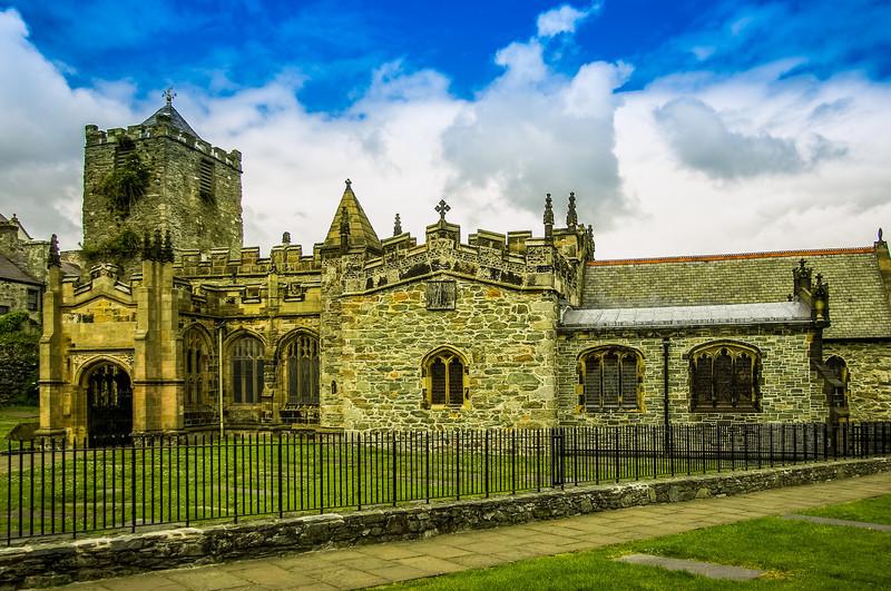St Cybi's Church, Holyhead, Wales<br /> St Cybi's Church, Holyhead, Wales