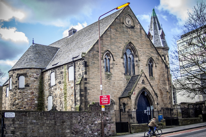 Buccleuch Parish Church, built 1756.